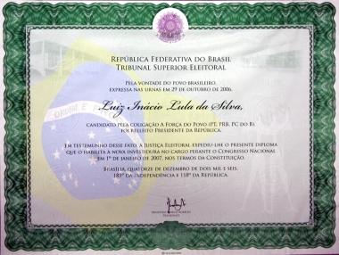 tse-diploma-presidente-lula-2006